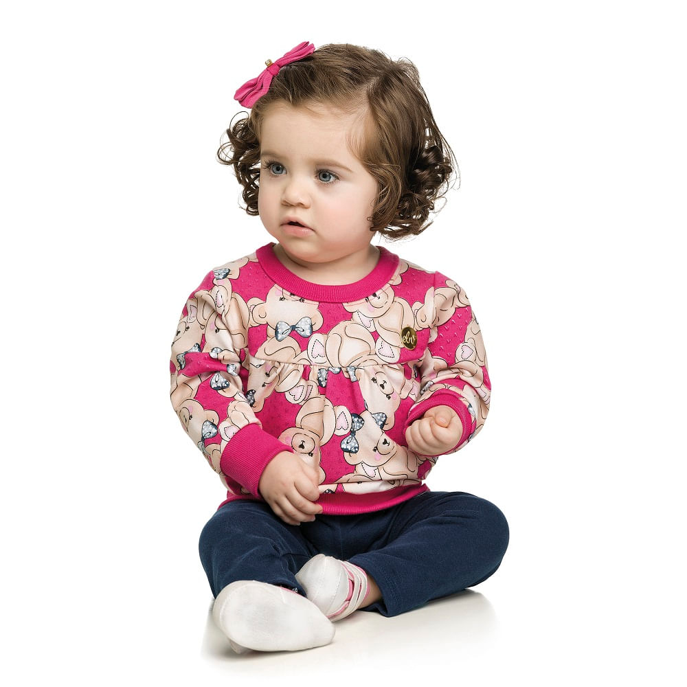 8e42c5c5ad Conjunto Feminino Bebê Malwee - bbbkids