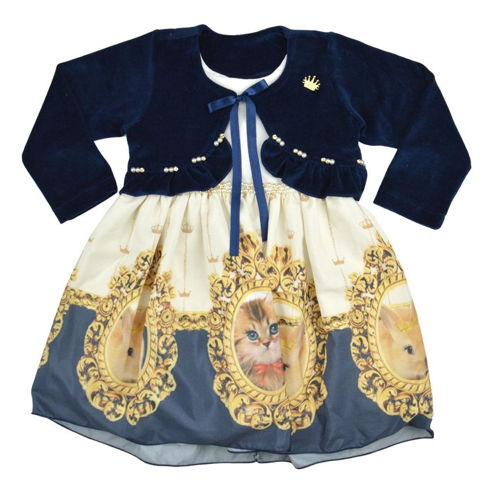 f903ff6020 Infantil - Roupas - Vestidos - Vestido de inverno Mini Miss – bbbkids