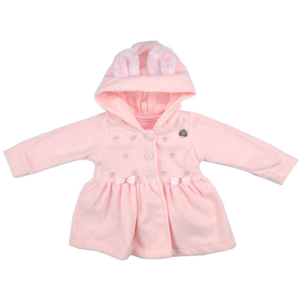 a429e93382 Casaco Feminino Bebê Mini Miss - bbbkids