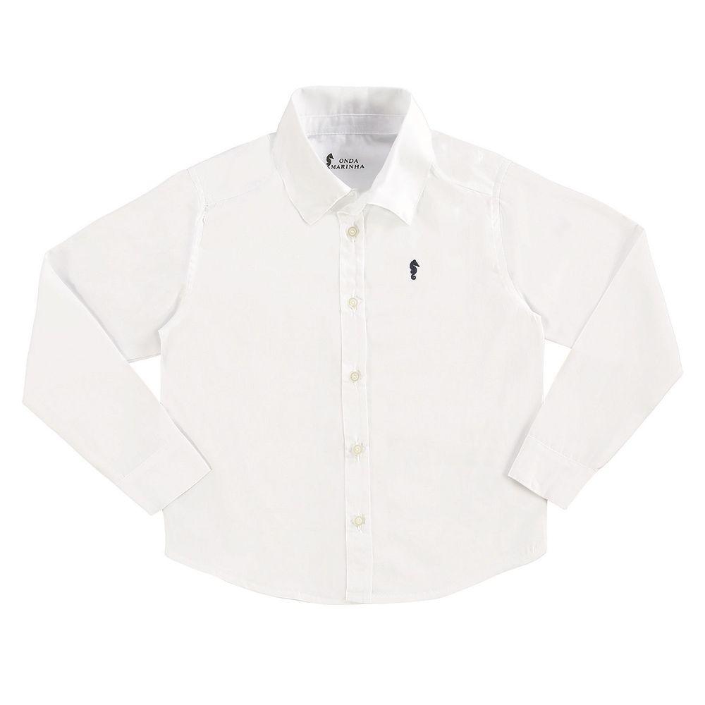 Camisa Masculina Infantil Onda Marinha - bbbkids aa273ff0bb5fb