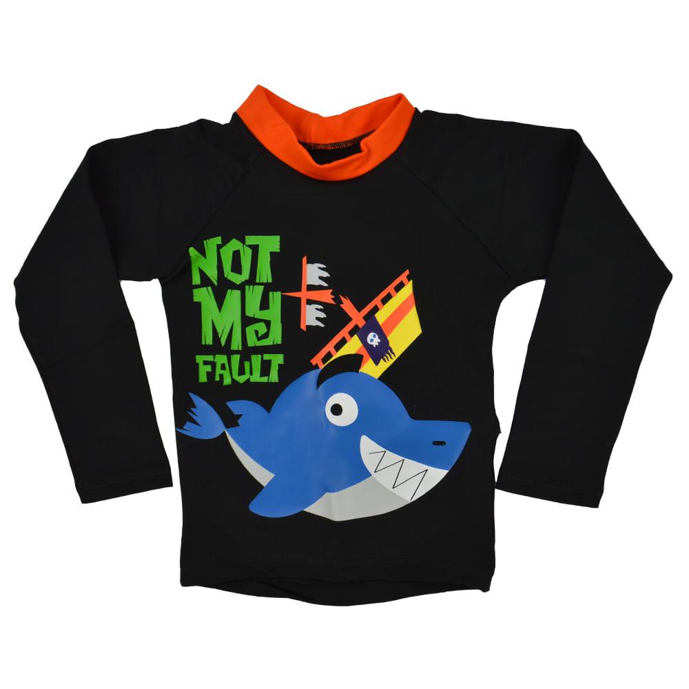 camiseta-110200140 Camiseta Tubarão Uv Manga Longa Bebê Puket ... 05941f53a44