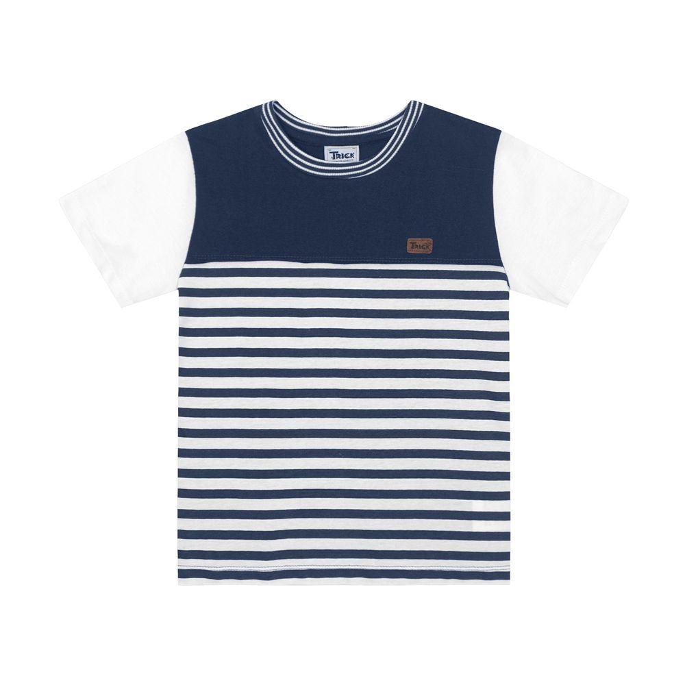 Camiseta Listrada Masculina Infantil Rovitex. Tabela de Medidas.  100825-000-02 91daf0502a48c